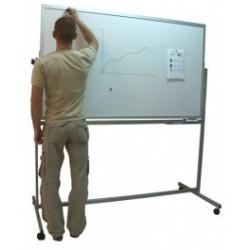 Tablica magnetyczna dwustronna obrotowa such. 170x100x190 cm
