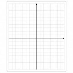 Tablica układ współrzędnych 85x100 cm