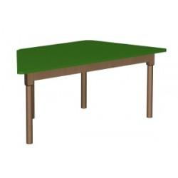 Stół regulowany trapezowy 1400x700