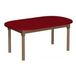 Stół regulowany owalny 1200x700