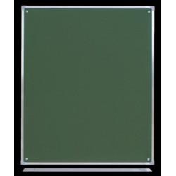 Tablica ceramiczna magnetyczna zielona, 1,00 m  x  0,85