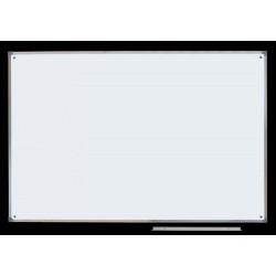 Tablica ceramiczna magnetyczna biała, 1,00 m  x  1,50