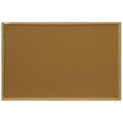 Tablca korkowa 180x90 rama MDF - drewniana