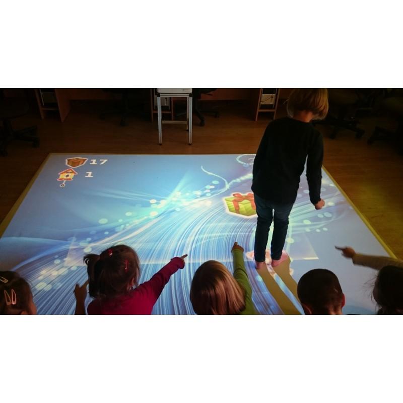 Zaawansowane Podłoga interaktywna - multimedialna - MasterEdukacja DM01
