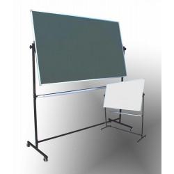 Tablica na stojaku,obrotowa, dwustronna, magnetyczna, mieszana 1,00 m  x  1,70