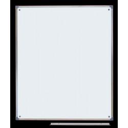 Tablica ceramiczna magnetyczna biała, 1,00 m  x  0,86