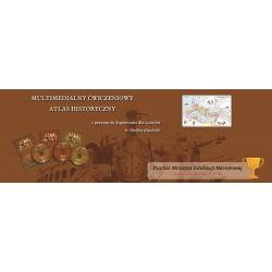 Zestaw ćwiczeniowy atlasów historyczny CD 1,2,3