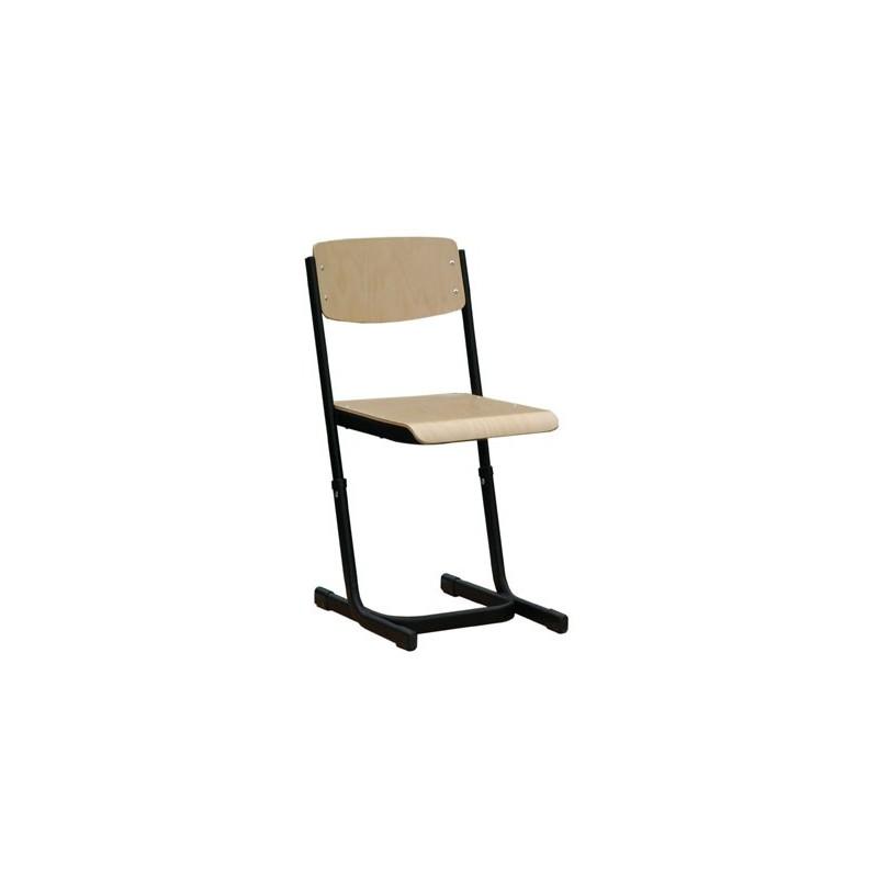 Krzesło szkolne Reks W z regulacją wysokości
