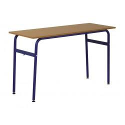 Stolik szkolny 2-osobowy Alan