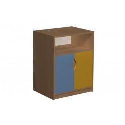 Regał z szafką 10