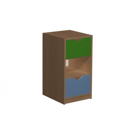 Regał z 2 szufladami 5