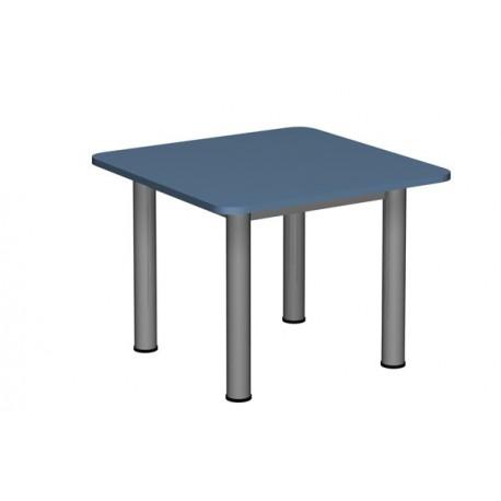 Stół Przedszkolny Regulowany Kwadratowy Noga Fi 60