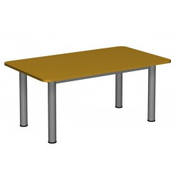 Stół przedszkolny regulowany 1200x700 noga fi 60