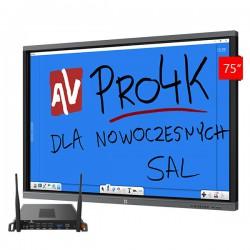 Zestaw Monitor 4 (Avtek TouchScreen 75 Pro4K, Avtek OPS Pro4K Celeron)