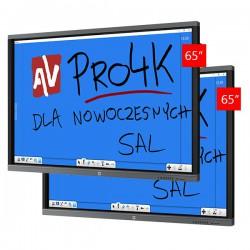 Zestaw Monitor 7 (2x Avtek TouchScreen 65 Pro4K)