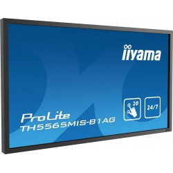"Monitor Interaktywny iiyama Prolite TH5565MIS-B1AG 55"" LED 24/7, FULL HD, IPS,"