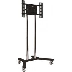 Uniwersalny wózek lub stojak, poziom/portret, max 70cali (VESA 600 x 400)