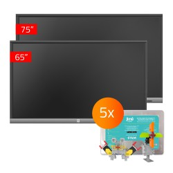 Zestaw Monitor 25- 1x TouchScreen 5 Lite 75, 1x TouchScreen 5 Lite 65, 5x Jimu Box
