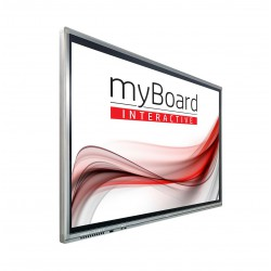 "Monitor Interaktywny MyBoard GREY D-LED 55"" 4K UHD Z Androidem + OPS PLUS I3-7100"