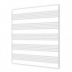 Tablica magnetyczna pięciolinia suchościeralna 120x100 cm