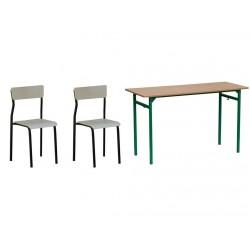 Zestaw 2x krzesło Leon + 1x...