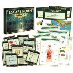 Gra escape room. Biologia