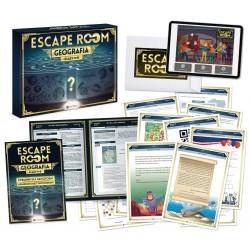 Gra escape room. Geografia