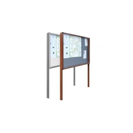 Gablota zewnętrzna wolnostojąca GOZ-WL 120x100x200+50cm do wkopania