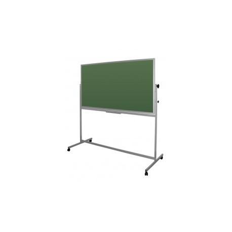 Tablica magnetyczna dwustronna obrotowa zielona 170x100x190 cm