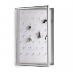 Gablota na klucze 60x90 cm 40 kluczy