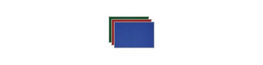 Tablice korkowe i tekstylne