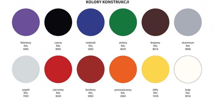kolory konstrukcji